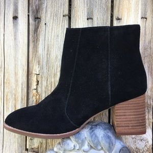 NWT Madewell Bryce Chelsea Boot Suede Black 9